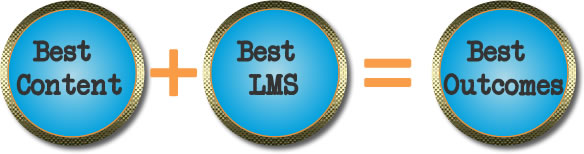 Best LMS + Best Content = Best Outcomes