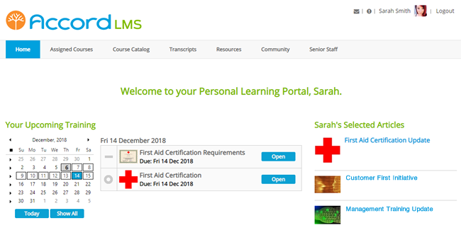 Personalized Learner Dashboard