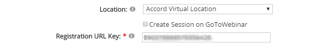 Accord LMS Session Details