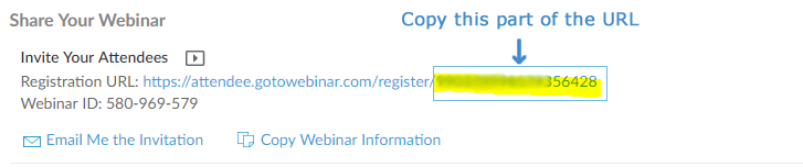 GoToWebinar Registration URL